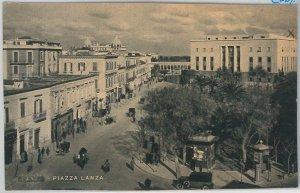 49750   CARTOLINA d'Epoca - FOGGIA citta' : Piazza Lanza 1944