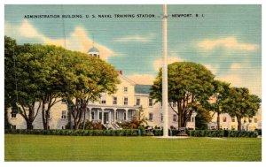 Rhode Island  Newport US Naval Training Station , Administration Building