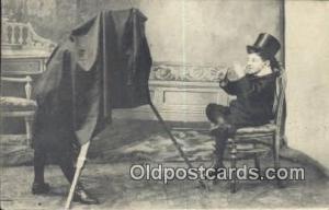 Camera Postcard Post Card Old Vintage Antique