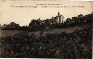 CPA Environs de BESANCON - Chapelle des Buis vue prise de Trois-Chatey (182932)