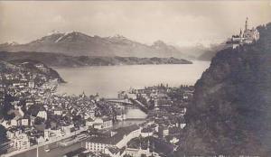 RP, Luzern Mit Rigi U. Gutsch, Switzerland, 1920-1940s