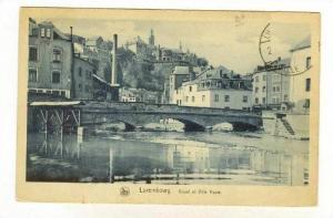 Grund et Ville Haute, Luxembourg, 1900-1910s