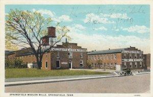 SPRINGFIELD , Tennessee, 1934 ; Springfield Woolen Mills