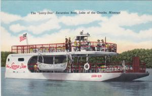 MISSOURI, 1900-1910's; The Larry Don Excursion Boat, Lake Of The Ozarks