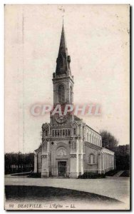 Deauville - L & # 39Eglise - Old Postcard