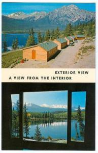 Pyramid Lake Motel , JASPER , Canada , 40-60s