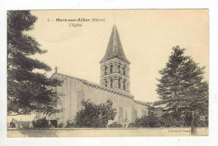 L'Eglise, Mars-sur-Allier (Nièvre), France, 1900-1910s