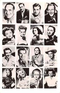 Bing Crosby, Dorothy Lamour, Joan Bennet Movie Star Actor Actress Film Star U...