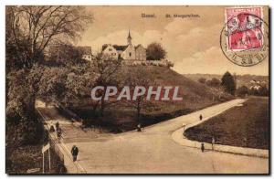 Switzerland Basel Postcard Old St Margarethen