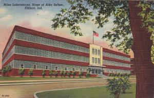 ELKHART, Indiana, 1930-40s; Miles Laboratories, Home Of Alka Seltzer