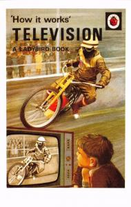 Postcard Television (1968) Series 654 How it Works Ladybird Book Cover