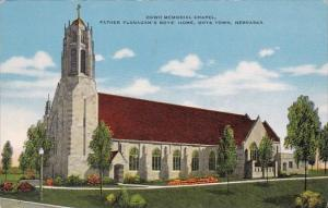 Dowd Memorial Chapel Father Flanagans Boys Home Boys Town Nebraska