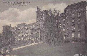 New York Dansville Jackson Health Resort Main Buyilding 1910 Albertype