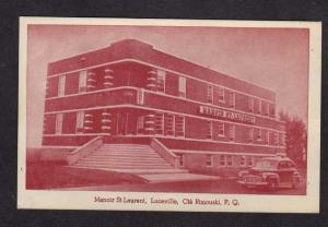 PQ Manoir St Laurent Luceville Cte Rimouski Quebec Canada Carte Postale Postcard