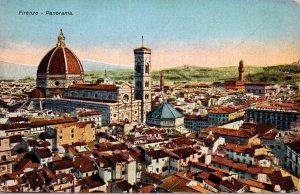 Italy Firemze Panoramic View
