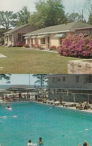 BILOXI , Mississippi, 50-60s ; Bryan Motel, Huge Swimming Pool