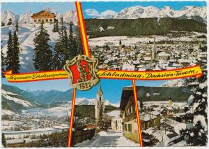 SKI-ZENTRUM DACHSTEIN-TAUERNGEBIET, Austria, used Postcard