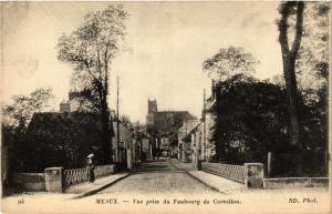 CPA MEAUX - Vue prise du Faubourg de Cornillon (436392)