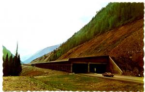 Canada - BC, Rogers Pass. Snow Sheds