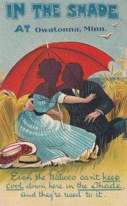 Umbrella Couple , OWATONNA , Minn. , 00-10s ; #1