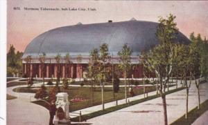 Utah Salt Lake City Mrmon Tabernacle 1915