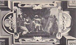 France Chateau de Cheverney Fresque de la Chambre du Roi