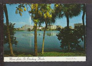 Mirror Lake St Petersburg FL Postcard BIN