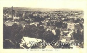 Vue Generale Soissons, France, Carte, Unused