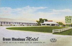 Kentucky Lexington Green Meadows Motel
