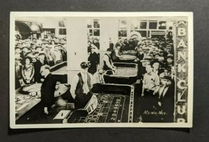 Mint Vintage Reno Nevada Gambling in a Casino RPPC