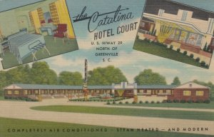 GREENVILLE , South Carolina , 30-40s ; The Catalina Hotel Court