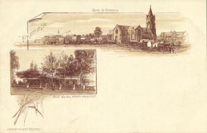 south africa, PRETORIA, House of President Paul Kruger, Church (1899)