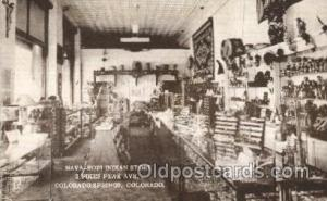 Nava-Hopi Indian Store, Colorado Springs, CO, USA Store Fronts and Store Inte...