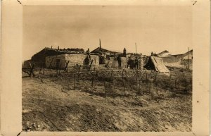 CPA AK Soldiers in a Camp in Morocco - Photo Postcard MAROC (964310)