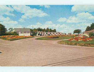 Unused Pre-1980 WHITE HOUSE MOTEL IN ST. SAINT JOHN NB CANADA s4536