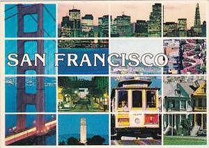California San Francisco Multi View