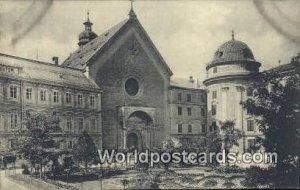 Hofkirche Innsbruck Austria Unused