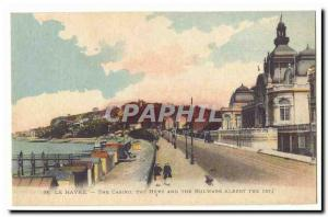 Le Havre Old Postcard The Casino and the bulware the Heve Albert the 1st