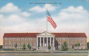 Post Headquarters, SCOTT FIELD, Illinois, 30-40's