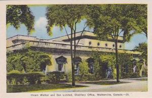 Canada Ontario Walkerville Hiram Walker & Son Distillery Office