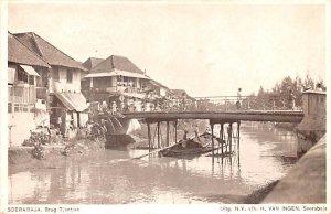 Brug Tjantian Soerabaja Indonesia, Republik Indonesia Postal Used Unknown, Mi...
