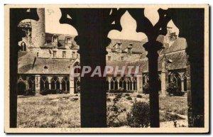 Old Postcard Brittany Treguier Le Cloitre