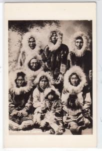 RPPC, Alaska Eskimo Family