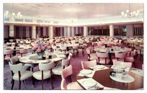 1968 Lowell Hall, Women's Hall Dining Room, Madison, WI Postcard