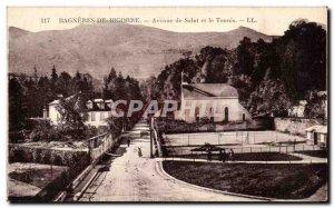 Old Postcard Bagneres De Bigorre Hi Avenue and the Tennis