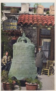 RIVERSIDE, California, 1900-1910's; Glenwood Mission Inn, Chinese Bell