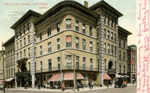 CT - Hartford. The Allyn House Hotel