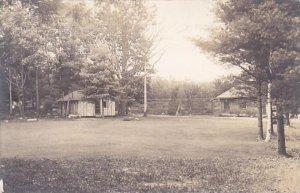 Maine Raymond Panther Pond Camp Kokotosi Recreation Area 1935 Real Photo RPPC