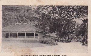CHESTER , West Virginia, 1907 ; Ye Olde Mill , Rock Springs Park
