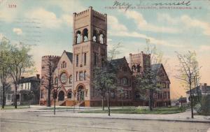 First Baptist Church , SPARTANBURG , South Carolina , PU-1910